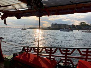 Chinese Junk Boat, PEI