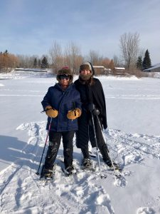 Mary Ann Baynton, snowshoeing, perseverance