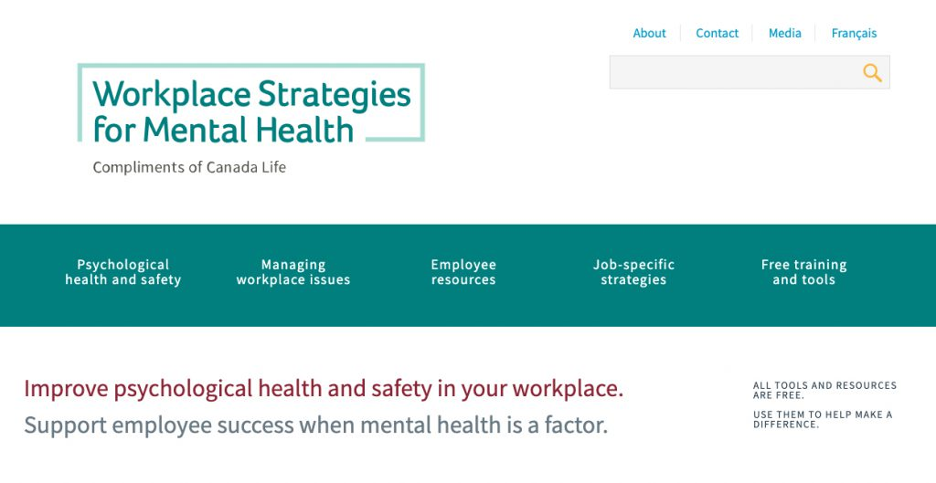 Workplace Strategies for Mental Health