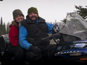 snowmobiling in Northwest Ontario