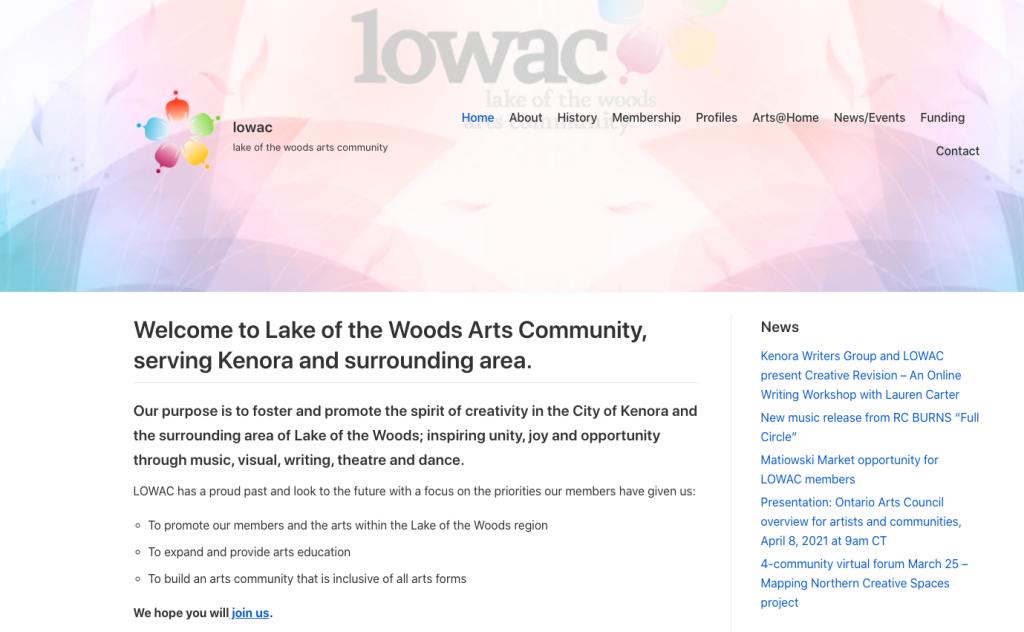 LOWAC web page
